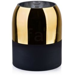 RITA GOLD Wazon 17x17x21cm