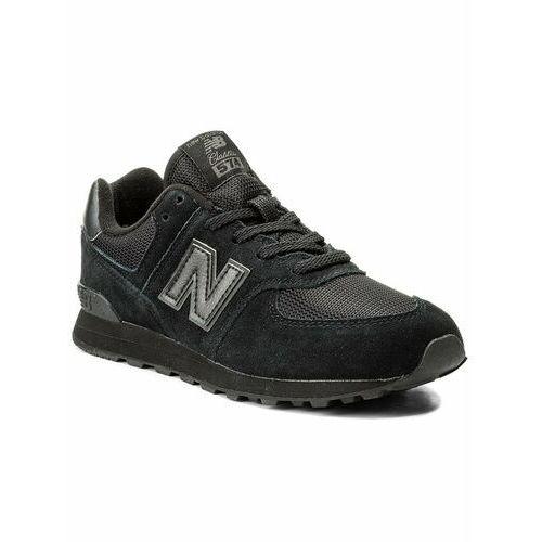 Damskie obuwie sportowe, New Balance Sneakersy GC574TB Czarny