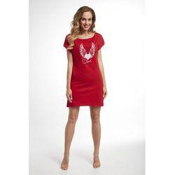 Koszula nocna Dolce Sonno - Tina - Czerwona - SKY