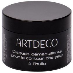 Artdeco Eye Make-up Remover Eye Make-up Remover Pads Oily chusteczki oczyszczające 60 szt dla kobiet