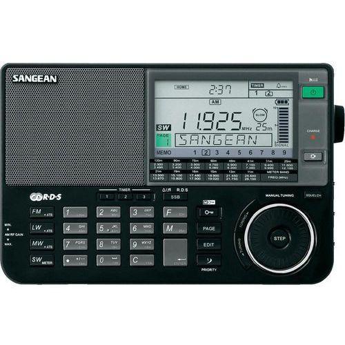 Radioodbiorniki, Sangean ATS-909 X - Radio stereo, czarne