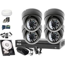 Zestaw do monitoringu: Rejestrator BCS-XVR0801, 4x Kamera LV-AL25HD, 1TB, akcesoria