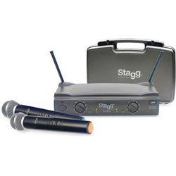 Stagg SUW 50 MM EG EU bezprzewodowy system UHF, podwójny doręczny