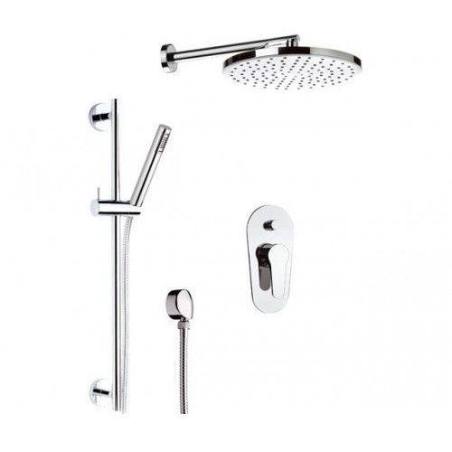Zestaw prysznicowy z deszczownicą daniel omega om614z marki Daniel rubinetterie