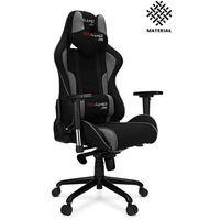 Fotele dla graczy, Fotel gamingowy MAVERIC+ materiał PRO-GAMER dla graczy