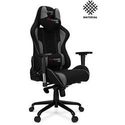 Fotel gamingowy MAVERIC+ materiał PRO-GAMER dla graczy
