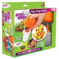 Akcesoria dekoracyjne do potraw, DEKORATOR WYKRAWACZ DO WARZYW OWOCÓW POP CHEF