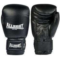 Rękawice bokserskie skórzane Allright czarny