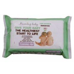 Bezzapachowe Organiczne Chusteczki Nawilżane, Beaming Baby, 72 szt.