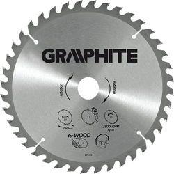 Tarcza do cięcia GRAPHITE 55H601 185 x 30 mm do pilarki widiowa DARMOWY TRANSPORT