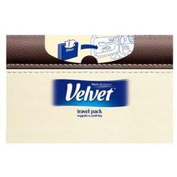 VELVET 60szt Travel Pack Chusteczki higieniczne pudełko
