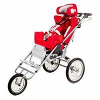 Pozostałe foteliki samochodowe, Multifunkcyjny rehabilitacyjny fotelik samochodowy, wózek i opcjonalnie przyczepka rowerowa dla niepełnosprawnych do 75kg CARROT 3 Multiroller