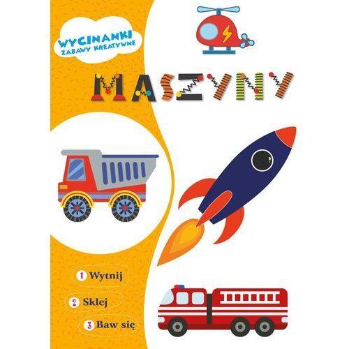 Książki dla dzieci, Wycinanki Maszyny (opr. miękka)