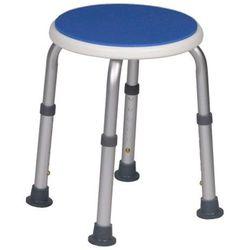 BLUE - taboret prysznicowy okrągły
