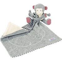 Pluszaki zwierzątka, Käthe Kruse Pluszowa małpka Carlo, szara, 0174905 Darmowa wysyłka i zwroty