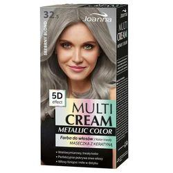 Joanna Multi Cream Metallic Color farba do włosów 32.5 Srebrny Blond