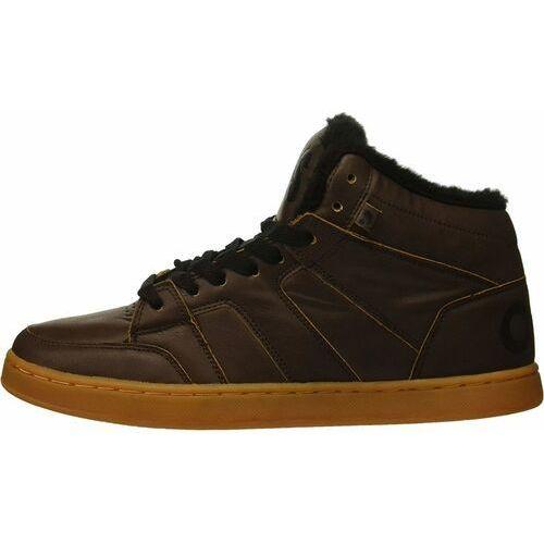 Męskie obuwie sportowe, buty OSIRIS - Convoy Mid Shr Brown/Black (559) rozmiar: 48.5