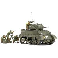 "Figurki i postacie, U.S. Light Tank M5A1 ""Pursuit Operation"" Set (w/4 Figures)"
