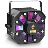 Zestawy i sprzęt DJ, Cameo STORM - 3 w 1 efekt świetlny, 5 x 3W RGBAW flower LED, strobo i laser Płacąc przelewem przesyłka gratis!