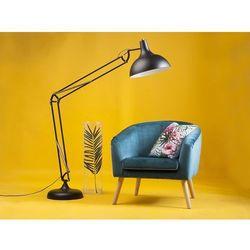 Fotel tapicerowany niebieski NAPPA