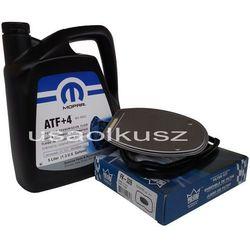 Olej MOPAR ATF+4 oraz filtr automatycznej skrzyni biegów NAG1 Jeep Wrangler 2012-
