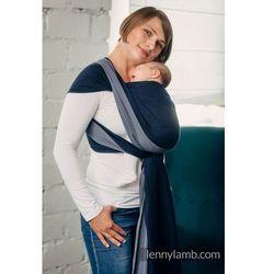 Moja pierwsza chusta do noszenia dzieci - AZURYT, tkana splotem skośno - krzyżowym - Rozmiar S (4,2 metra) - LennyLamb