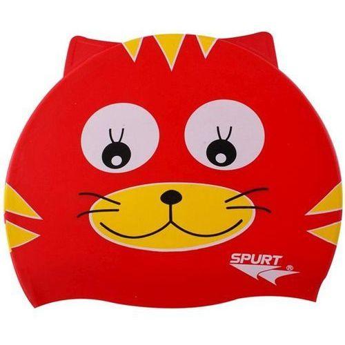 Czepki, Czepek silikonowy SPURT Red Cat