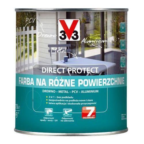 Farby, Farba na różne powierzchnie V33 Direct Protect kremowy satyna 0,75 l