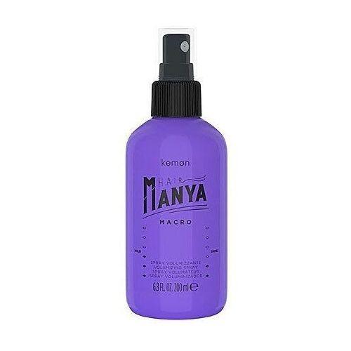 Inne kosmetyki do włosów, Kemon HAIR MANYA Macro, spray nadający objętość włosom 200ml