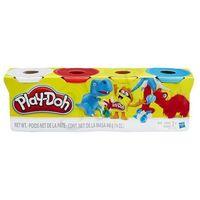 Kreatywne dla dzieci, Play-Doh: Uzupełnienie 4 kolory - Hasbro OD 24,99zł DARMOWA DOSTAWA KIOSK RUCHU