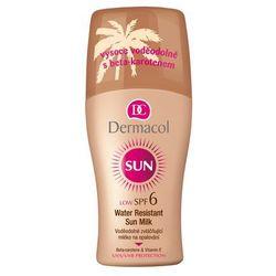 Dermacol Sun Milk Spray SPF6 preparat do opalania ciała 200 ml dla kobiet