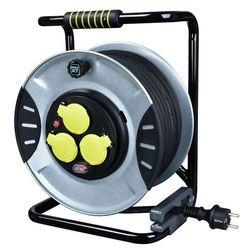 Przedłużacz bębnowy Diall metalowy 3 x 1,5 mm2 40 m