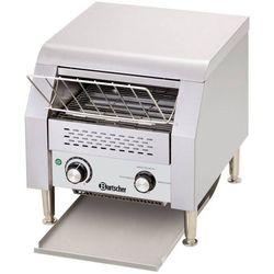 Toster przelotowy stal nierdzewna | 150 tostów/h | 368x440x385 mm