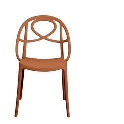 Krzesło ogrodowe Green Etoile pomarańczowe