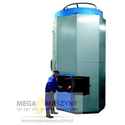 EKOGREŃ Kocioł przemysłowy na ekogroszek EG-100