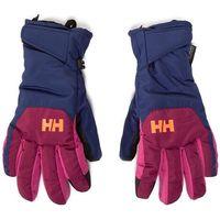 Rękawice ochronne, Rękawice narciarskie HELLY HANSEN - Jr Swift Ht Glove 67352-657 Purple Potion