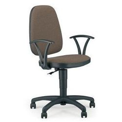 NOWY STYL Krzesło biurowe, obrotowe ADLER GTP, czarno-niebieski