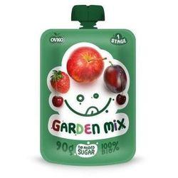 Przecier Owocowy Ogrodowy Mix 100% od 6 m-ca życia BIO 90 g Novofruct