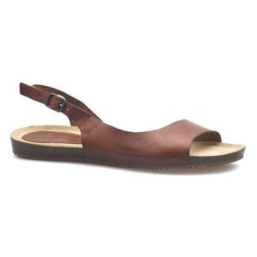 Sandały damskie, Sandały Filippo DS1207/20BR Brązowe lico