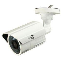 Kompaktowa Kamera Przewodowa Zewnętrzno-Wewnętrzna, Kolorowa (600 linii), Dzienno-Nocna + Zasilacz