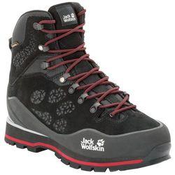 Męskie buty w góry WILDERNESS PEAK TEXAPORE MID M black / red - 7,5