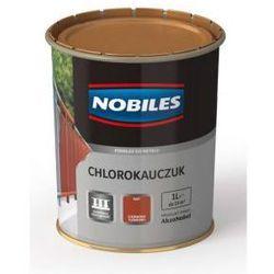 Podkład Nobiles Chlorokauczuk Czerwony tlenkowy 10l.
