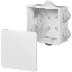 FAST-BOX Puszka natynkowa hermetyczna pojedyncza IP44 biała 0243-00 ELEKTRO-PLAST NASIELSK