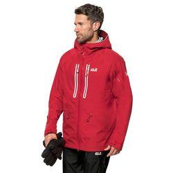 Kurka narciarska męska EXOLIGHT MOUNTAIN JACKET M red lacquer - L