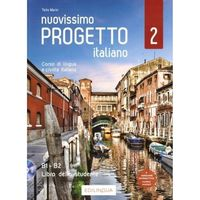 Książki do nauki języka, Nuovissimo progetto italiano 2 podręcznik + dvd - telis marin (opr. miękka)