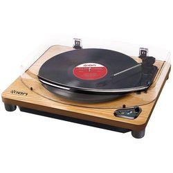Gramofon ION AIR LP WD (USB, BT) drewno ION AIR LP WD - odbiór w 2000 punktach - Salony, Paczkomaty, Stacje Orlen