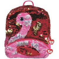 Tornistry i plecaki szkolne, TY plecak z cekinami Fashion Sequins Gilda - flaming