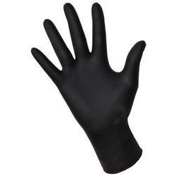 """Rękawice nitrylowe NITRYLEX black """"S"""" 100szt."""