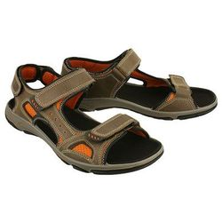MANITU 610209-2 braun, sandały męskie