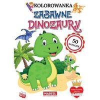 Literatura młodzieżowa, Zabawne dinozaury z naklejkami - ratajszczak katarzyna, gdula adam, włodarczyk hubert
